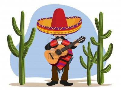 10281178-suonare-la-chitarra-messicana